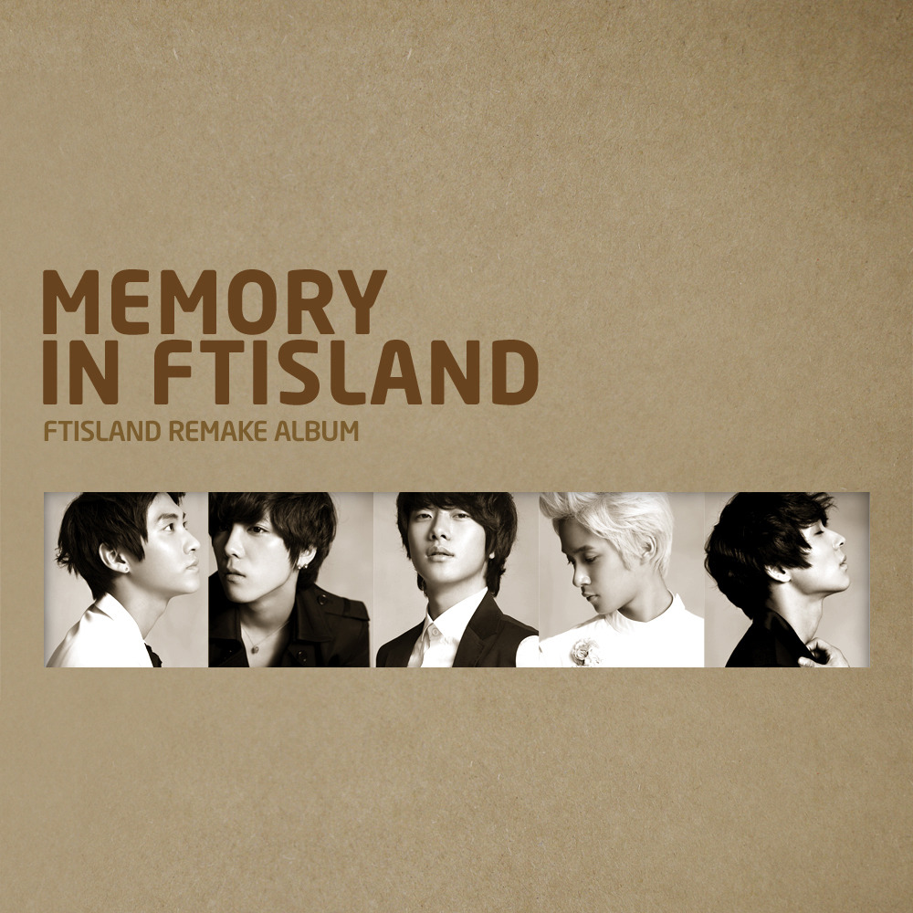 MEMORY IN FTISLAND 앨범정보